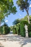 Jardins de Boboli fotos de stock royalty free