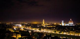 Florença na noite 2 Imagem de Stock