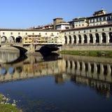 Florença - Ponte Vecchio Foto de Stock Royalty Free