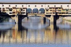 Florença - Ponte Vecchio Fotos de Stock Royalty Free