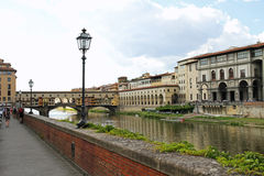 Florença - Ponte Vecchio Fotografia de Stock Royalty Free