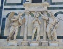 Florença Toscânia Italy O Baptistery de St John em Praça del Domo imagens de stock royalty free