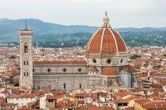 Floren?a, heran?a do UNESCO e casa ao renascimento italiano, completo de monumentos e de obras de arte famosos pelo mundo inteiro foto de stock