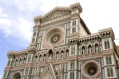 Florence. The Duomo of Florence, Santa Maria del Fiore's church Cathedral and Giotto bell tower, Italy, Tuscany Royalty Free Stock Photography