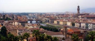 Florence panorama (Firenze) Stock Image