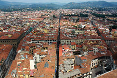 Florence from above Royalty Free Stock Photography