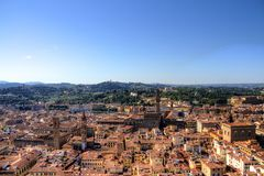 Florence from Above Stock Photography