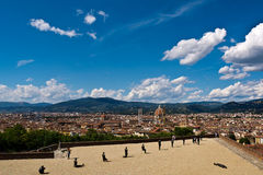 Florence from above Royalty Free Stock Photos