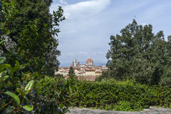Florence, aeral view Royalty Free Stock Image