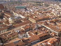 Florence aerial view Stock Photo