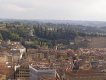 Florence aerial view Royalty Free Stock Images