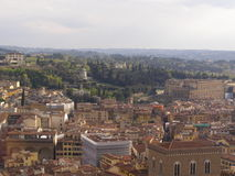 Florence aerial view Stock Photography