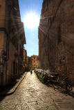 Florence alley Royalty Free Stock Images