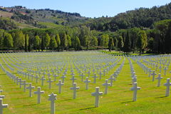 Florence American Cemetery and Memorial, Italy Royalty Free Stock Photos