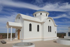 Florence, Arizona: St. Anthony`s Greek Orthodox Monastery - St. Elijah Chapel. St. Anthony`s Greek Orthodox Monastery was founded in 1995 in the middle of the Stock Images