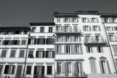 Florence arkitektur Arkivbild