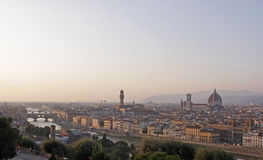 Florence and the Arno Stock Photography