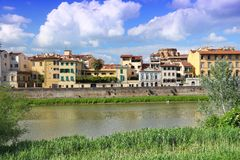 Florence Arno Royalty Free Stock Images