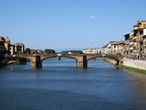 Florence - the Arno river Royalty Free Stock Photo