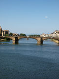 Florence - the Arno river Royalty Free Stock Photography
