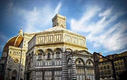 Florence Baptistery stock fotografie