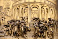 Florence - Baptistery Arkivbilder