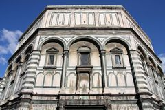 Florence baptistery Royalty Free Stock Images