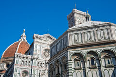 Florence Baptistery and Duomo Royalty Free Stock Photography