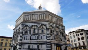 The Florence Baptistery, Florence, Tuscany, Italy royalty free stock photography