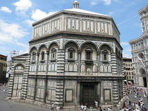 Florence baptistery of Saint John Royalty Free Stock Photography