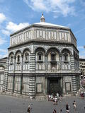 Florence baptistery of Saint John Stock Photo