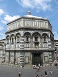 Florence baptistery of Saint John Stock Photo