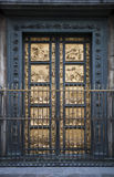 Florence Baptistry detail of doors Royalty Free Stock Images