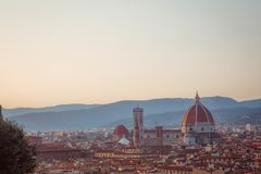 Florence. Basilica Domo of Florence, Italy Royalty Free Stock Images