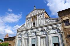Florence basilica Stock Image