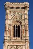 Florence, bell tower of the cathedral Sant Maria of Fiower Stock Photo