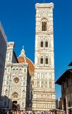 Florence. The bell tower of the Cathedral of Santa Maria de Fior Stock Photo