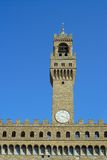 Florence, the bell tower of the Palazzo Vecchio Stock Photo