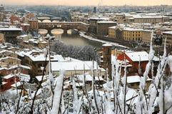Florence blanc photographie stock libre de droits