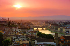 Florence bridge Royalty Free Stock Photos