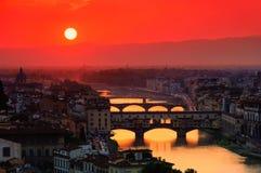 Florence bridge Royalty Free Stock Images