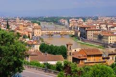 Florence bridge Royalty Free Stock Photo
