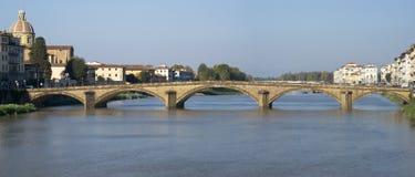 Florence. Bridge on the Arno river Royalty Free Stock Photos