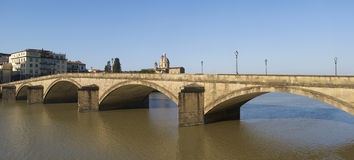 Florence. Bridge on the Arno river Royalty Free Stock Images