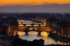 Florence bridge Stock Photo
