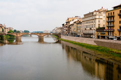 Florence. The bridge over the Arno. Royalty Free Stock Photo