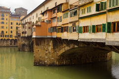 Florence, Bridge Ponte Vecchio Stock Photography
