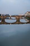 Florence bridge portrait Royalty Free Stock Photo