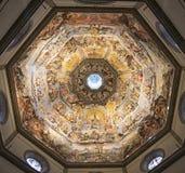Florence Brunelleschi-koepel royalty-vrije stock afbeelding