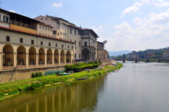 Florence Canal, Italy Royalty Free Stock Photos